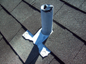 Damaged Roof Vent Repair in Southeastern Pennsylvania and the Main Line